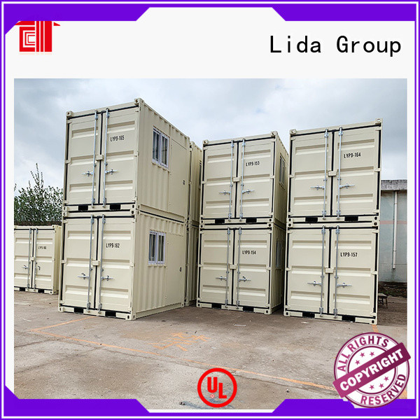 Lida Group cheap cargo containers manufacturers used as office, meeting room, dormitory, shop
