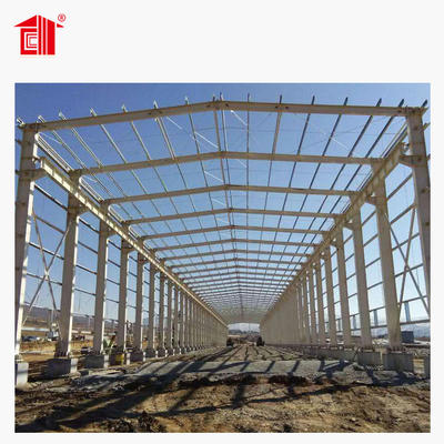 Lida Steel Structure Warehouse Steel Frame Workshop