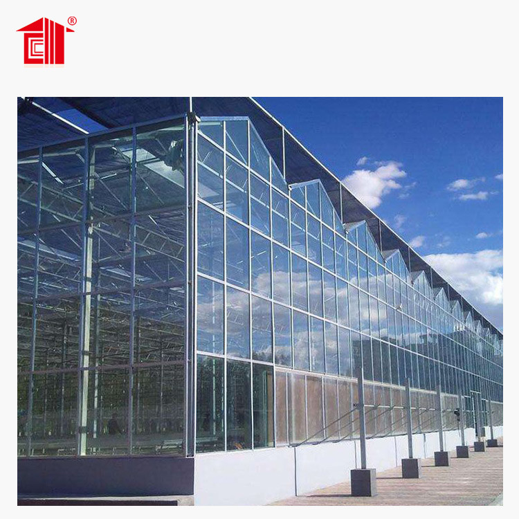 Prefab Greenhouse For Plant Growth High-Quality Building