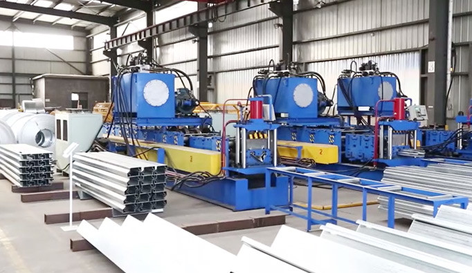 Lida Container House Frame Production