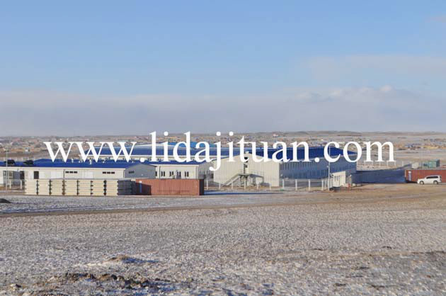 Mongolia Big Integrated Steel Structure and Container House Camp Project