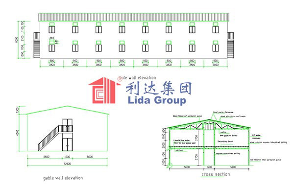 Saudi Binladen Group Prefabricated House Labour Camp Project