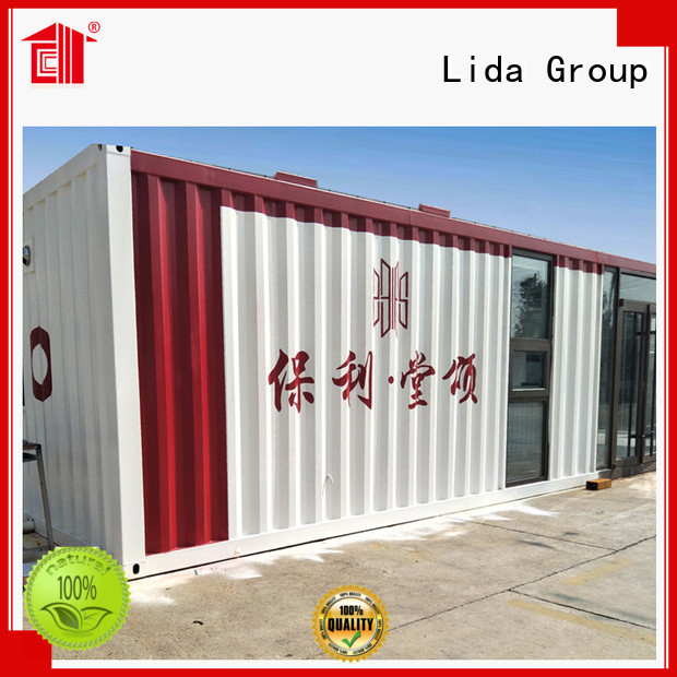 Best best shipping container home designs Supply used as booth, toilet, storage room