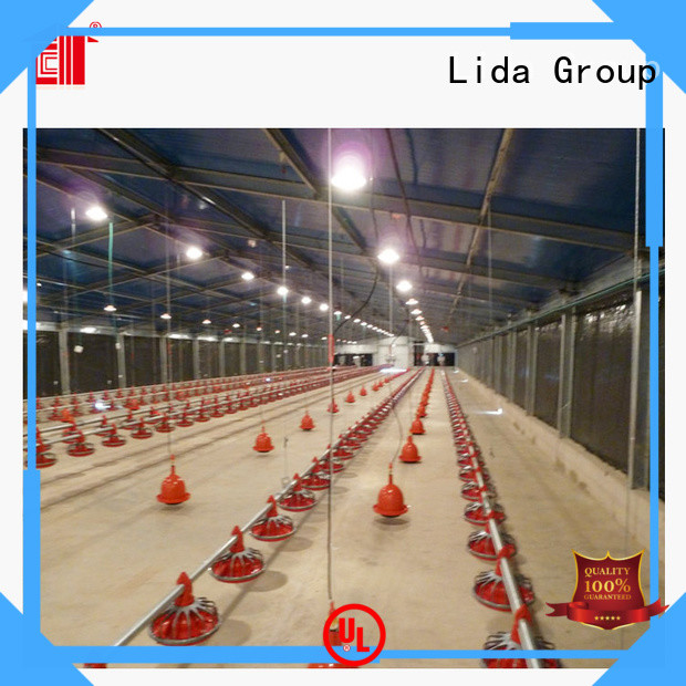 Custom breeder chicken houses company for poultry farming