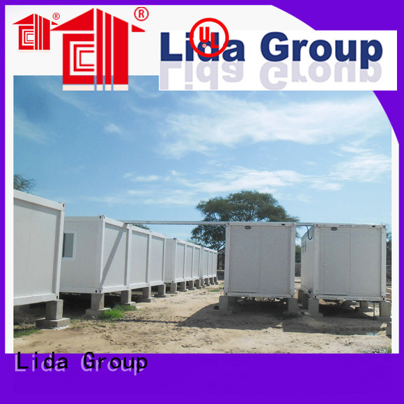 Lida Group military camp for business for oil and gas company