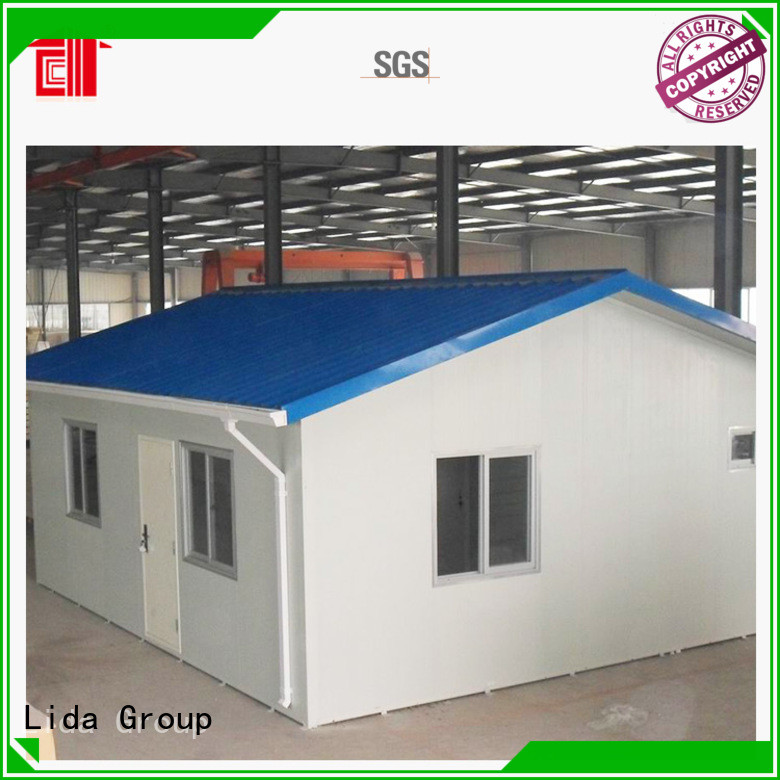Lida Group prefab townhouse manufacturers for Movable Shop
