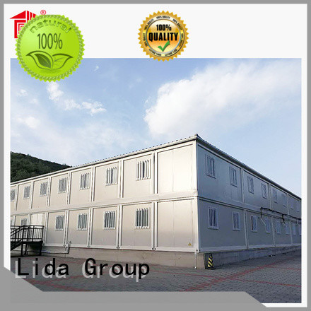 Custom two container home company used as office, meeting room, dormitory, shop