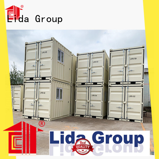 Lida Group New 20ft shipping container for sale company used as kitchen, shower room