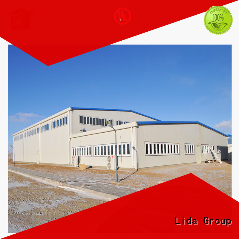 Lida Group camping house Suppliers for oil and gas company
