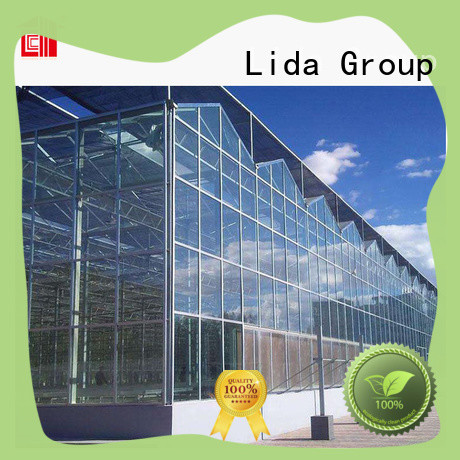 Lida Group Top greenhouse at walmart for business for agricultural planting