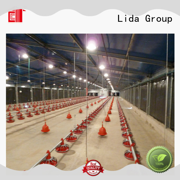 Lida Group High-quality chicken run farmer factory for poultry farm