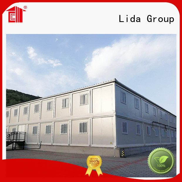 Lida Group Wholesale easy container homes for business used as kitchen, shower room
