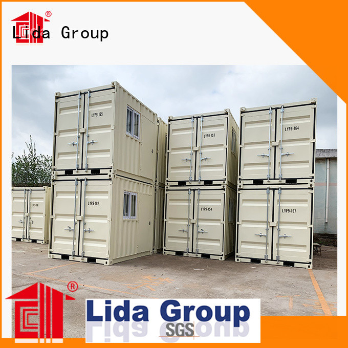 Lida Group buy freight container for business used as kitchen, shower room