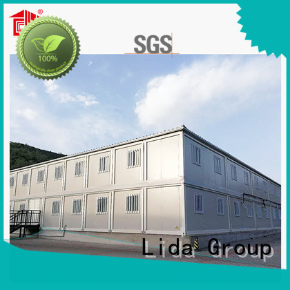 Lida Group cargo homes manufacturers used as kitchen, shower room