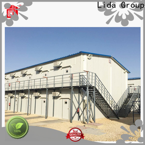 Lida Group Custom large prefab homes for business for Movable Shop