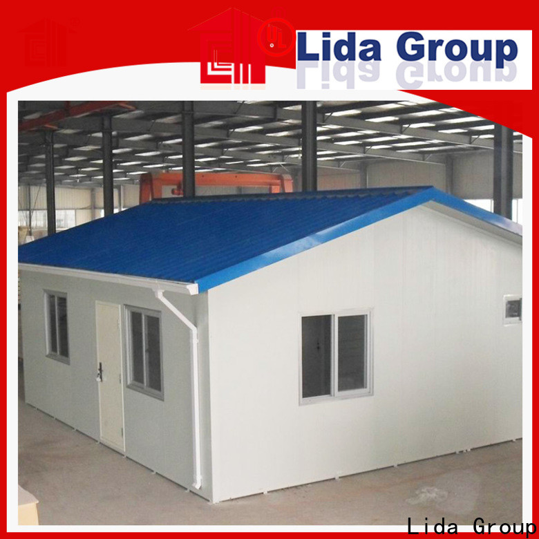 Lida Group prefab cottage homes company for Sentry Box and Guard House