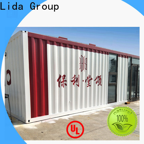 Lida Group New container construction company used as kitchen, shower room