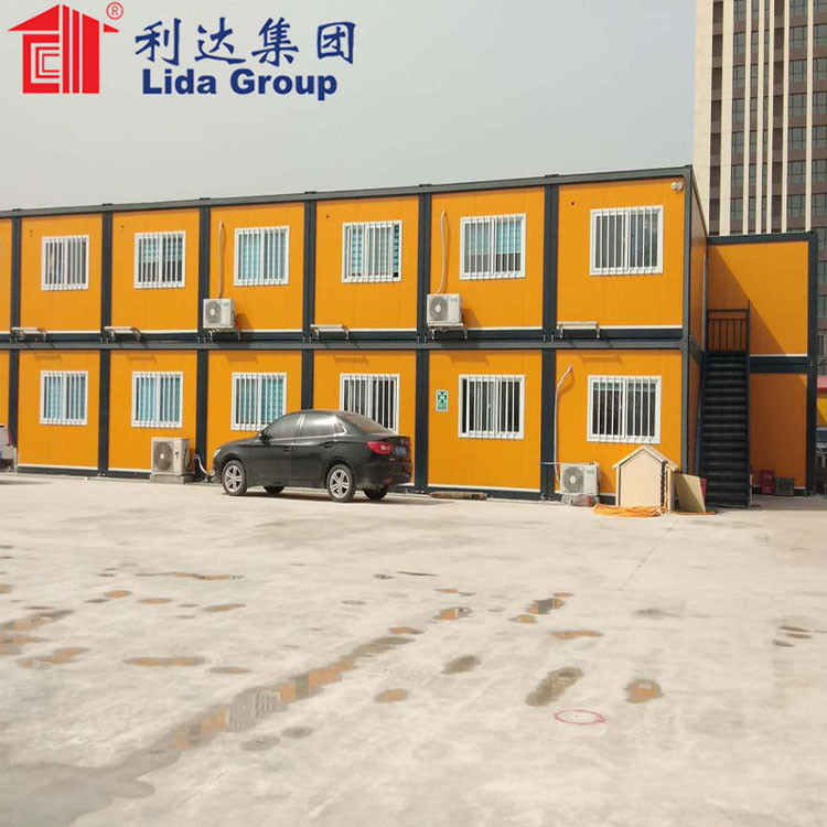 Flat Pack Assembled Container House  Lida Group