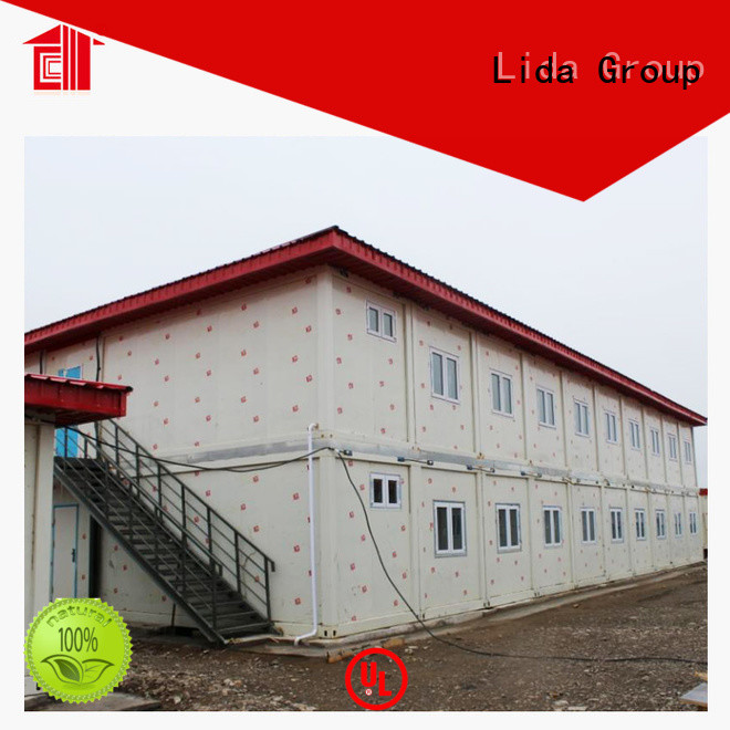 Lida Group High-quality steel shipping crates factory used as kitchen, shower room