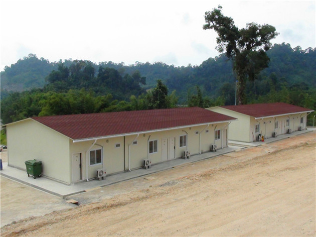 Engineer Coumpound for Cameron Highlands hydroelectric Station Project by Prefabricated house in Malaysia