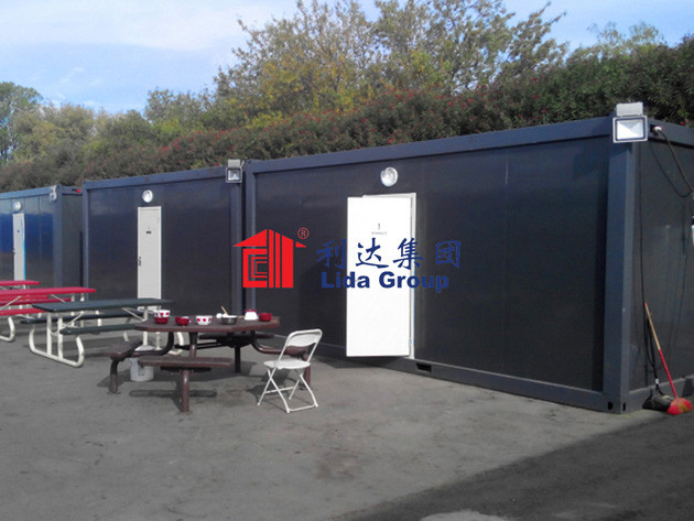 China-USA Cultural Exchange Exhibition Center Container House Project