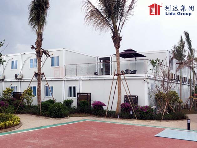 Jiangdong•International Energy Center project camp built by Lida Group