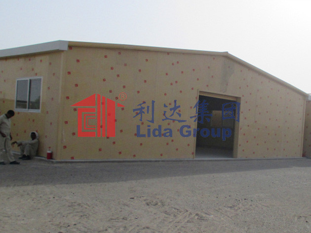 Abu Dhabi Light Steel Structure Hangar supply by China supplier Lida Group