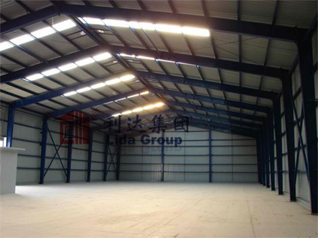 2014 Chile steel structure warehouse project